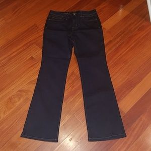 Simply vera wang dark denim bootcut jeans 8